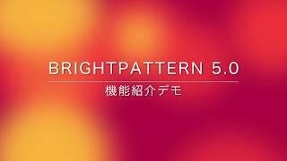 Bright Pattern 機能紹介デモ