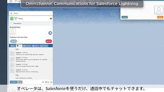 Bright Pattern -Salesforce連携